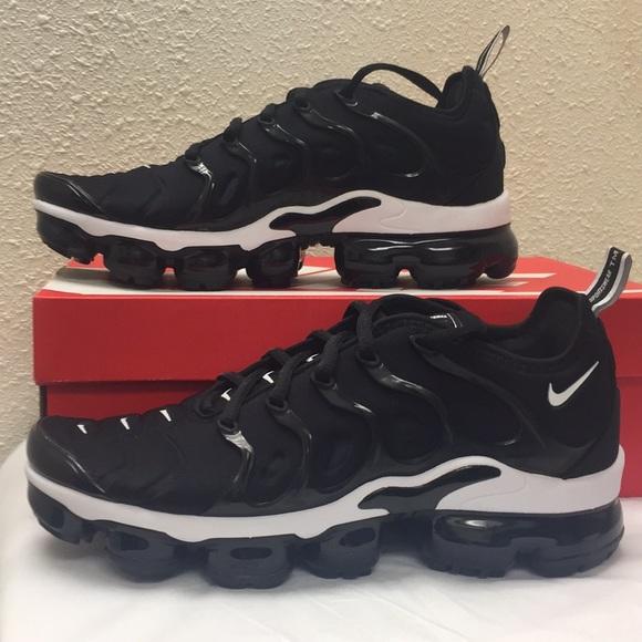 Nike Shoes Vapormax Plus Blue And White Poshmark